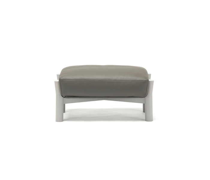 [가리모쿠KNS] 캐스터 소파 오토만 CASTOR SOFA OTTOMAN LEATHER /GRAIN GREY