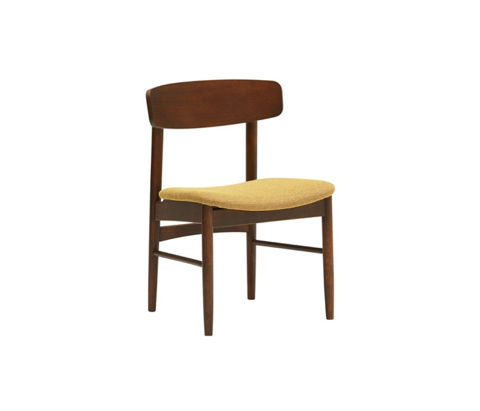 [가리모쿠60] 티체어 T chair mustard yellow / walnut